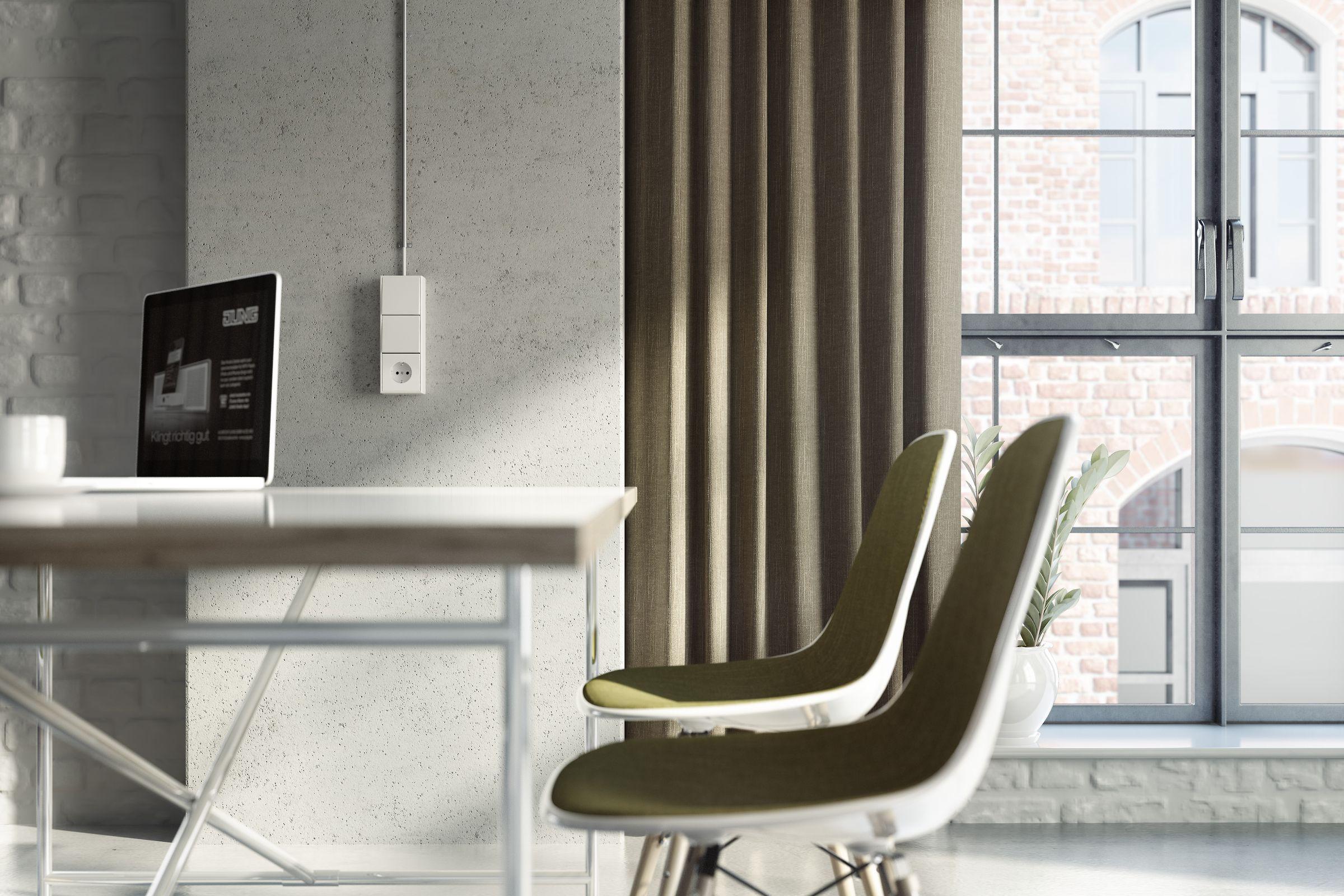 Jung_Light_Building_2012_Renderings ### jung_light_building_loft_detail_120613_01