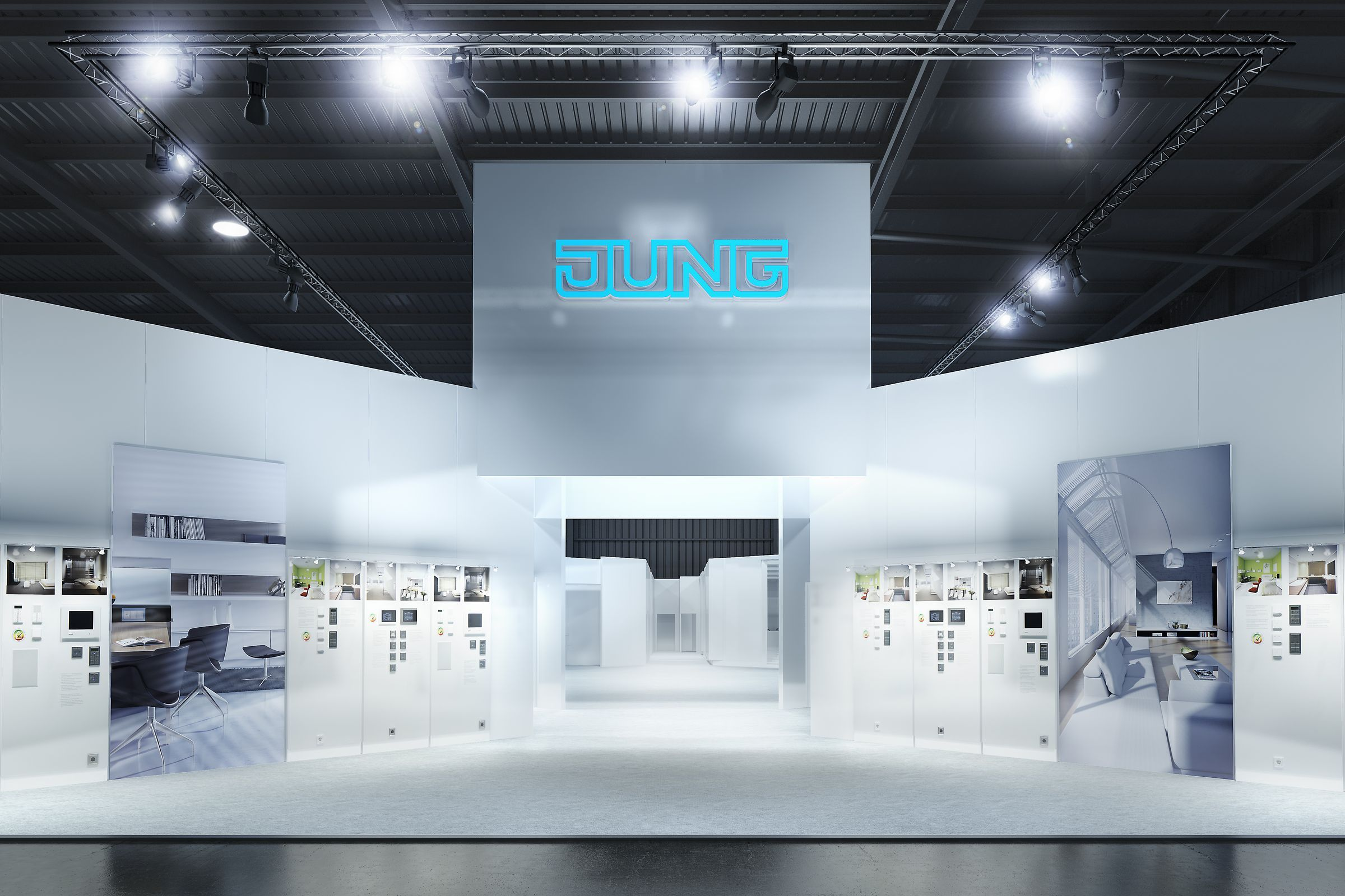 Jung_Light_Building_2012_Renderings ### Jung_Messe_Stand_2012_Eingang_Cam1_120117_01
