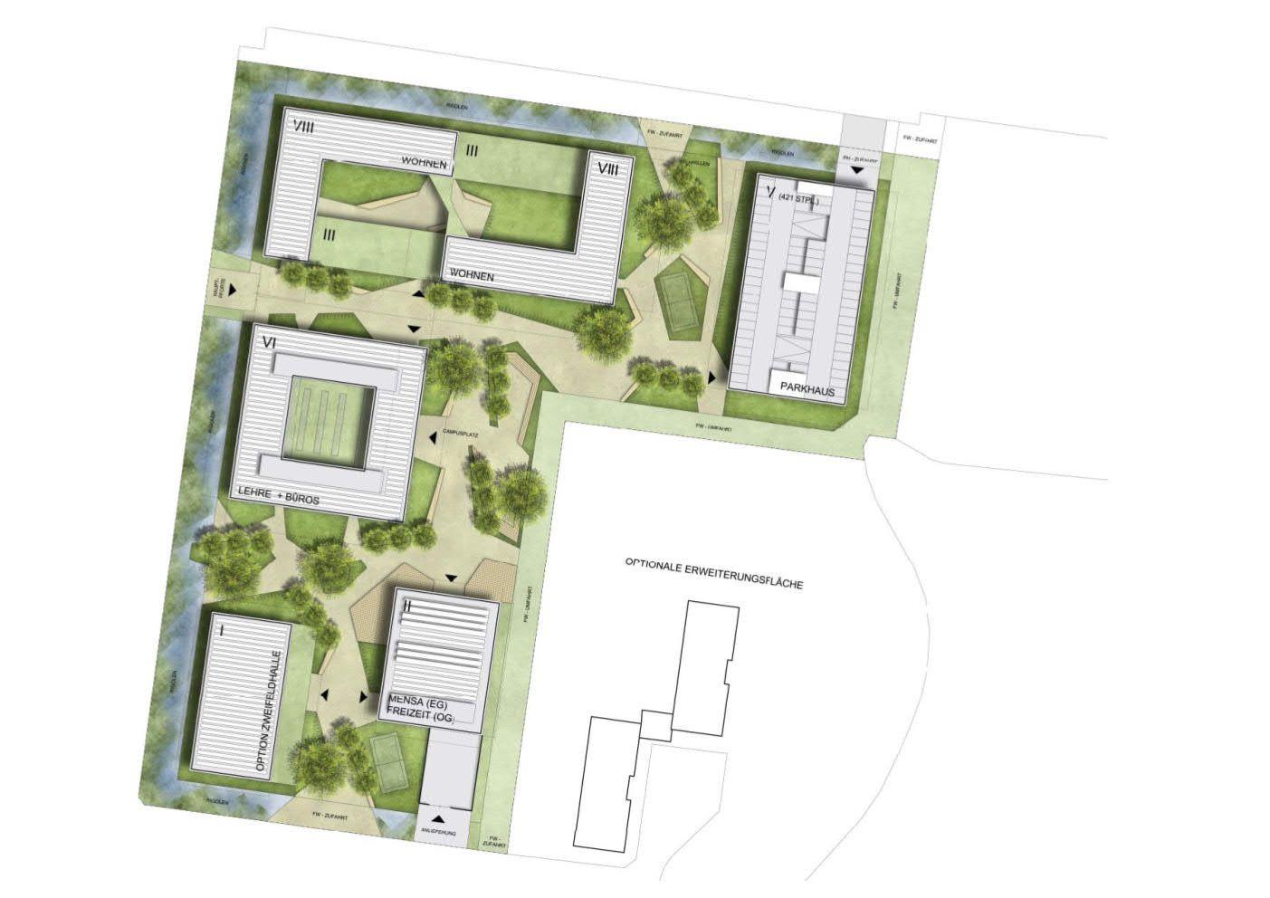 PMR_Campus_Neubau Bundeszollverwaltung Rostock_02_210722